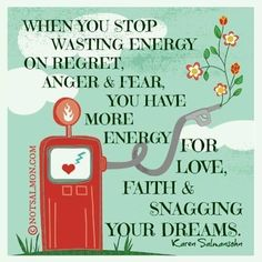 Use energy for love, faith, and snagging dreams.