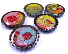 Resin Crafts, CUTE IDEA AND TURN INTO MAGNETS