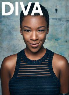 SAIRA WILEY FOR DIVA MAGAZINE 2015   ... ver a Samira Wiley arrasando nesse ensaio exclusivo da Diva Magazine