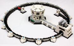 My working LEGO particle accelerator. It can accelerate a LEGO soccer ball to 12.5 km/h!