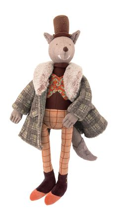 The Gentleman Mr. Wolf - Moulin Roty #fairytale #moulinroty #onceuponatime #iletaitunefois #wolf #doll #bigbadwolf