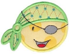 Smiley Face Halloween Applique 14 - 2 Sizes! | What's New | Machine Embroidery Designs | SWAKembroidery.com Bunnycup Embroidery