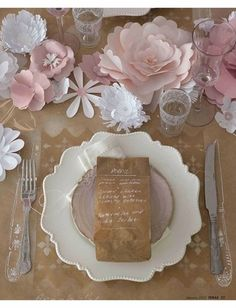 diy paper wedding table decoration https://www.kooziez.com/to-love-laughter-and-happily-ever-after/#koozies provide the perfect party favor for any wedding, graduation party, bachelorette party, etc