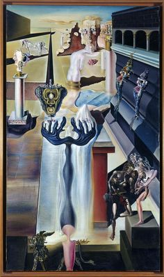 El Hombre Invisible.Dalí