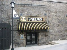 My favourite Canadian watering hole ... Lower Deck in Halifax