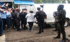 Realizan traslados de reclusos a varias cárceles de Honduras