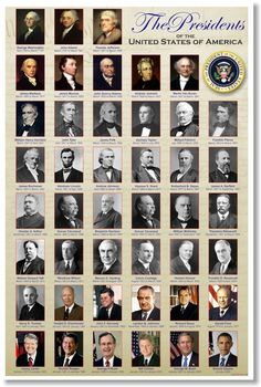 The Presidents Of United States America