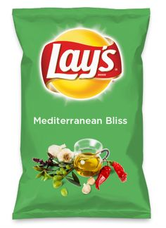 Wouldn't Mediterranean Bliss be yummy as a chip? Lay's Do Us A Flavor is back, and the search is on for the yummiest flavor idea. Create a flavor, choose a chip and you could win $1 million! https://www.dousaflavor.com See Rules.