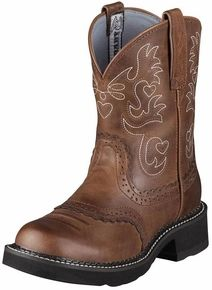 Ariat® Women's Fatbaby Boots - Russet Rebel. Have the exact same pair!
