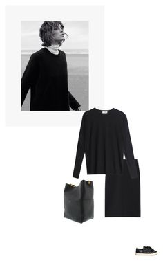 """/"" by darkwood ❤ liked on Polyvore featuring CÉLINE, IRIDIUM, Ports 1961 and Acne Studios"