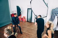 Great session with actor @coryhardrict today. Bts  @oshunfront