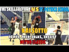 TSF (k. Sotto) Vs. St. Patrick School (J. Kuminga) || Insane Fake Moves!!! St Patrick, Baseball Cards, School, Sports, Hs Sports, Excercise, Schools, Sport, Exercise