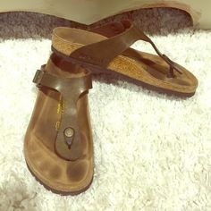 Birkenstock sandals Very mildly worn! Size: 39 (9) Birkenstock Shoes Sandals