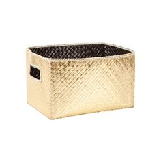 Black and gold basket - Zara Home ❤️ Baby Chanel, Miller Homes, Elements Of Design, Nursery Design, House And Home Magazine, Zara Home, Color Schemes, Sweet Home, Laundry Baskets