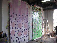 Ani Hoover's Studio: 701 Seneca Street on the 7th floor in the Old Larkin Industrial Center, Buffalo, NY, October 2008