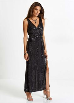 Sequin Detail Long Dress in Formal Dress Shops, Formal Dresses, Pullover, Elegant, The Selection, Party Dress, Size 12, Sequins, Detail