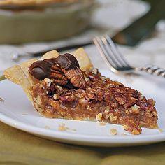 Rich and gooey Caramel-Pecan Pie