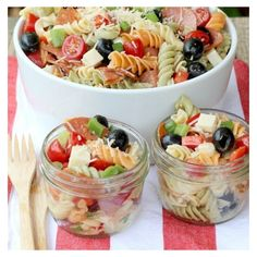 12 Pasta Salads Just in Time for Spring ❤ liked on Polyvore featuring home, kitchen & dining and kitchen gadgets & tools