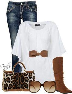 bluson + jeans + botas mosqueteras