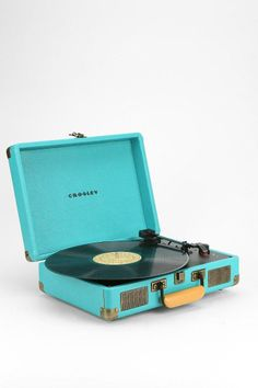 Crosley X UO Cruiser Briefcase Portable Record Player #urbanoutfitters