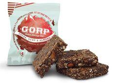 Cocoa, Hemp & Almond GORP bar. Clean eating energy bar made in Manitoba!