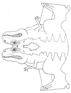 Manualidades para niños de dinosaurios | Angeles Manualidades (