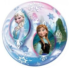 This Frozen balloon adds extra enchantment and fun to any party! It has a clear bubble-like design, covered with artwork of Anna, Elsa and Olaf, ready to be filled with either air or helium. Frozen Balloons, Frozen Bubbles, Small Balloons, Bubble Balloons, Helium Balloons, Foil Balloons, Disney Frozen Party, Frozen Theme Party, Disney Disney