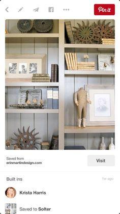 Shelves for family room?