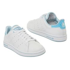 adidas stan smith w chaussures blanc bleu or