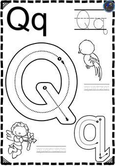 Jolly Phonics Activities, Preschool Learning Activities, Preschool Curriculum, Preschool Lessons, Shape Worksheets For Preschool, Pre K Worksheets, Preschool Writing, Nursery Book, English Lessons For Kids