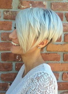 Short Hairstyles for Women with Thin/ Fine Hair: Pixie Cut #thinhair shorthairstyles #finehair