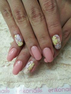 spring nails | See more nail designs at http://www.nailsss.com/nail-styles-2014/2/