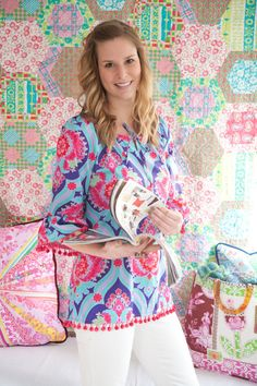 Easy Peasant Top or Dress Sewing Pattern - Sis Boom Devon Peasant, PDF E-Book. via Etsy.