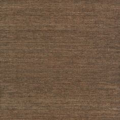 allen   roth�Brown Grasscloth Unpasted Textured Wallpaper