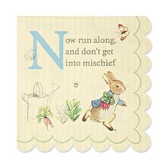Party Ark's 'Peter Rabbit & Friends Small Napkins'