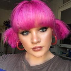 ARCTIC FOX HAIR COLOR @samanthajadebradley We going pink pink 💓 #afvirginpink #pinkhair #pinkaesthetic #aesthetic #hairgoals #hairdye #dyedhair #haircolor #hair #hairinspo #inspo #quarantinehair #quarantinelooks #arcticfoxhaircolor Bright Pink Hair, Go Pink, Hair Color Pink, Mom Hairstyles, Funky Hairstyles, Winter Hairstyles, Hair Inspo, Hair Inspiration, Funky Hair Colors