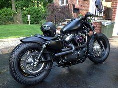2014 48 Project Done (pics) - La Perra Negra - Harley Davidson Forums