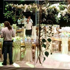 "wedding dinner at Namos restaurant Mykonos - wedding planning ""WedInGreece"""
