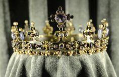 "The Palatine Crown (""Bohemian Crown"") at Royal Residenz Treasury in Munich. Circa 1370."