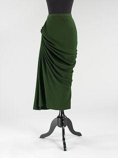 1940s Skirt | Charles James  (American, born Great Britain, 1906–1978) c.1947–48