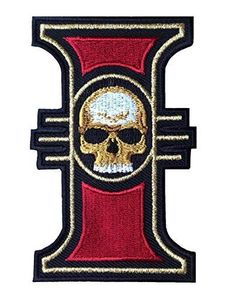 Inquisition Logo Warhammer 40000 World Order Emblem Patch - Embroidery emblem - Measures 3.5 inches 8,89 cm high - Iron/sew on backing