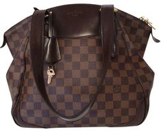 Louis Vuitton Verona Mm Ebene Canvas Hand Tote Damier Bag - Satchel. Save 56% on the Louis Vuitton Verona Mm Ebene Canvas Hand Tote Damier Bag - Satchel! This satchel is a top 10 member favorite on Tradesy. See how much you can save