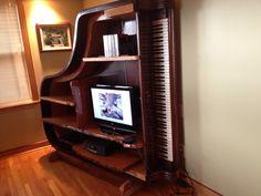 piano bookshelf - Google Search