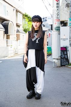 black & white ... Natsuka, 19 years old, student | 28 August 2016 | #Fashion…