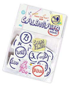 calendario imantado Happy New Year, Ideas Para, Wedding Day, Magnets, Calendar, Report Cards, Day Planners, Objects, Libraries