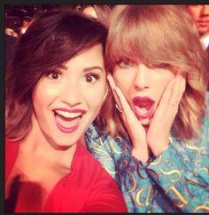 Taylor Swift and Demi Lavato