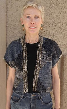 Ravelry: shangolds Tapestry Vest with Crystal Palace Yarns Waikiki