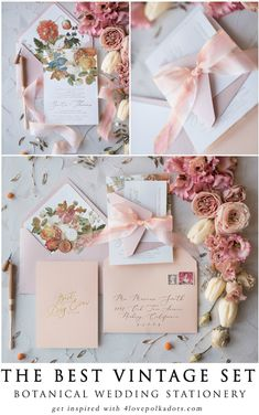 Sweet peaches for your Best Day Ever! Romantic handmade wedding invitation design with modern calligraphy. Whole design is touched with elegance and love. Envelope with flower liners, delicate ribbon made from 100% pure silk. Perfect, elegant and sophisticated invitation for your perfect wedding. #wedding #peach #pink #pastel