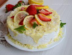 Torta al limone e cioccolato bianco senza cottura