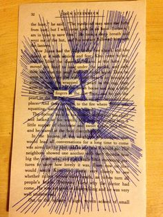 Found poetry: poetry Found Poem, Altered Books Pages, Teaching Poetry, Book Page Art, Blackout Poetry, Buch Design, Poetry Art, Middle School Art, Book Projects